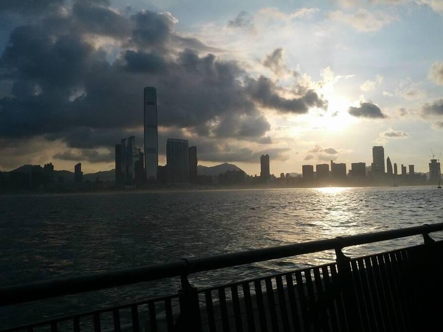 View from Sun Yat Sen park