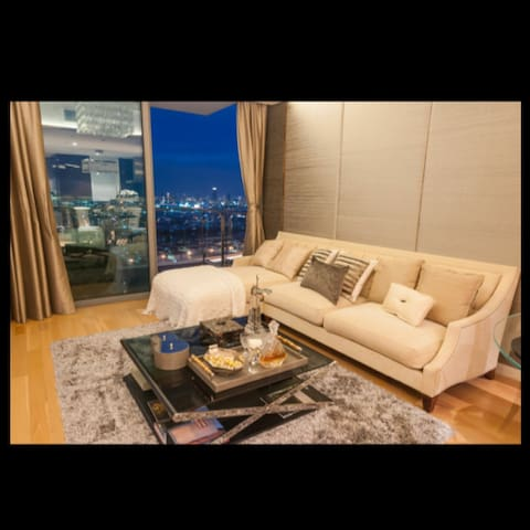 Two BR luxury with hight river view - Bangkok - Apartamento