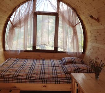 Double Room Wooden Barrel House - Halidzor