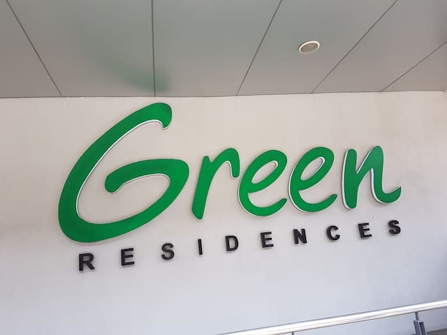 Green Residences: Spacious 1 Bedroom, 5268