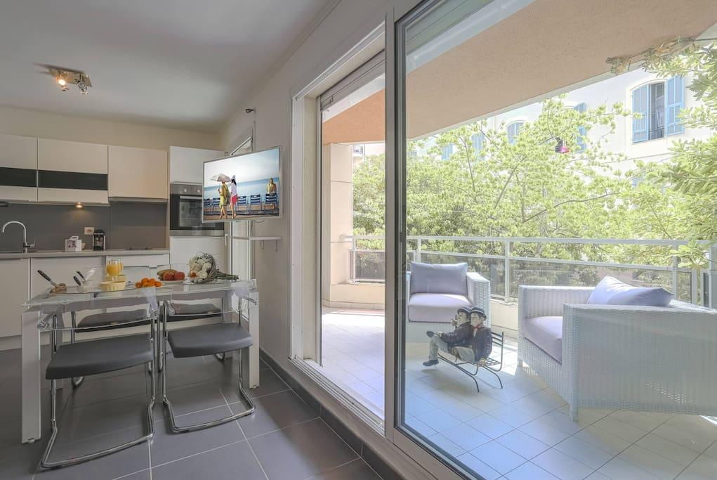 Cozy living-room