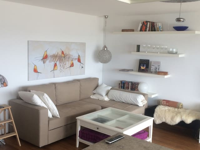 Modern apartment with lake view - Feusisberg - Apartamento