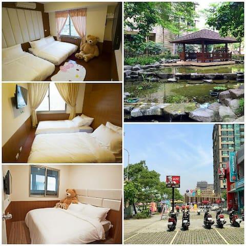 6-12人整棟3房·環境舒適·鄰近永寧捷運MRT - Sanxia District - Apartamento
