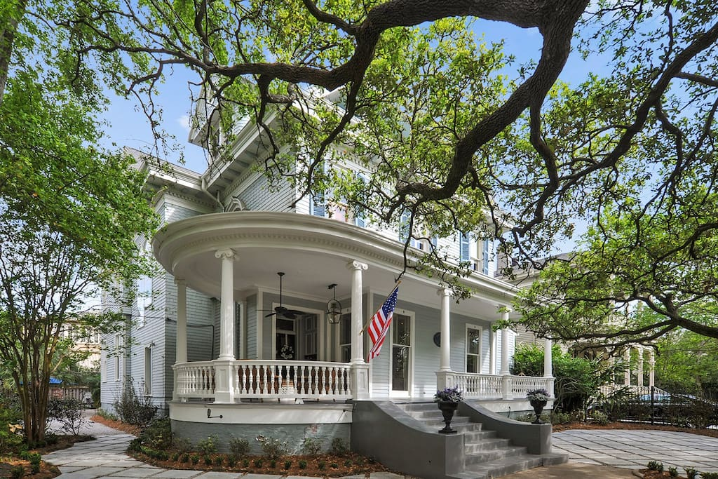 Charming New Orleans Garden District Stay Bed And Breakfasts For Rent In New Orleans