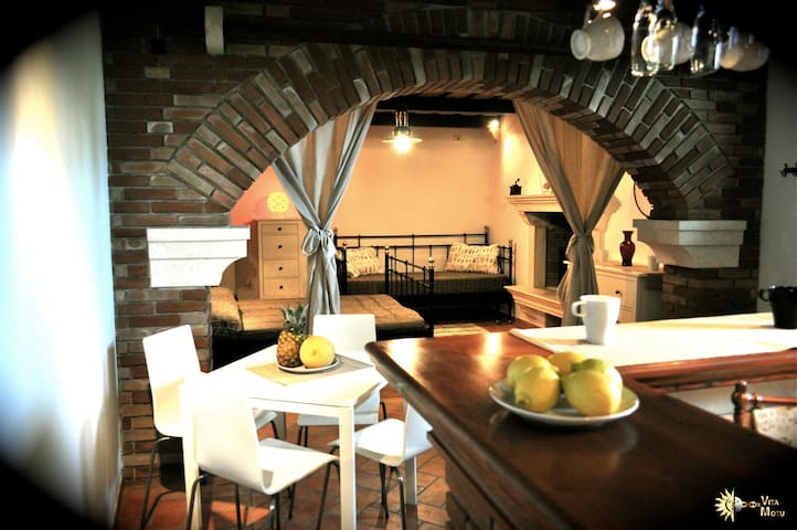 Modern-rustic with garden - Lucija - Appartement