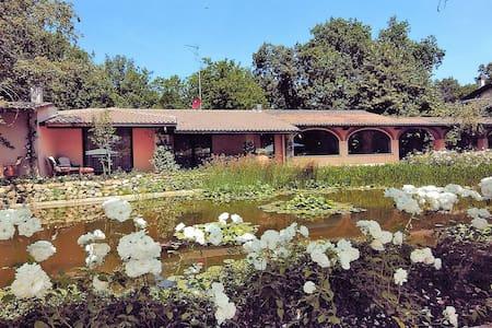 Beautiful villa with garden, pool and golf course - Civitella Val di Chiana (AR) - Villa