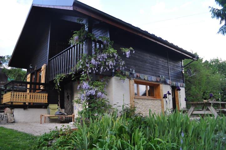 Chalet de montagne de charme - Sainte-Marie-du-Mont - Dağ Evi