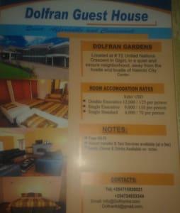 Quiet & Secure Home in Gigiri, Nbi. - Nairobi - Bed & Breakfast