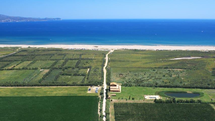 Mas del Mar, masia junto al mar - St Pere Pescador - Villa