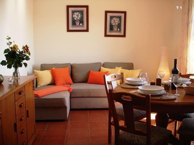 Casa junto à Praia T1 Com vista Mar - Vila Nova de Milfontes - Appartamento