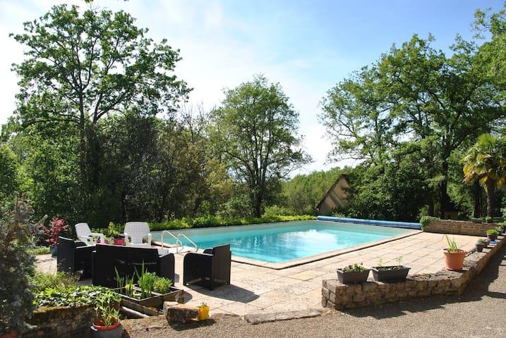 Chouette at Nieudegat Gites, Simeyrols, Dordogne. - Simeyrols - Apartament