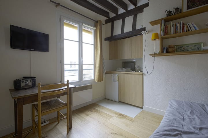 ADORABLE FLAT IN HEART OF LATIN QUARTER