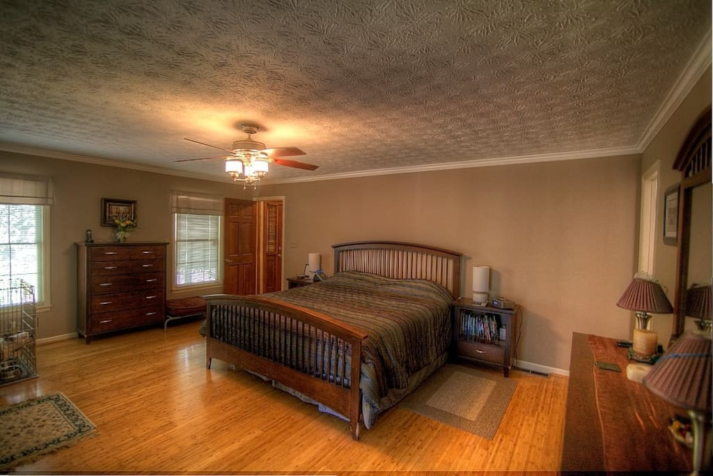Master Bedroom with Two Full Baths