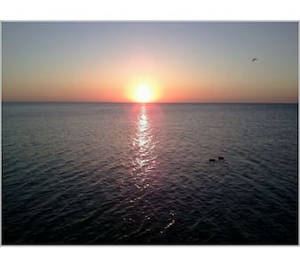 Walk to Lake Michigan & Watch the Sunrise - Port Washington