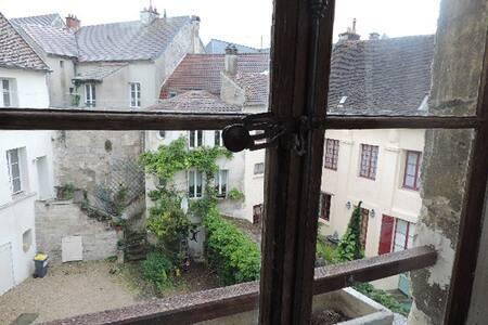 Studio meublé centre ville dans cour historique - Château-Thierry
