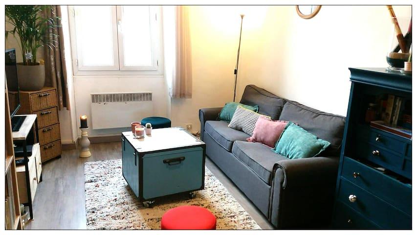 Appartement partagé cosy dans quartier agréable