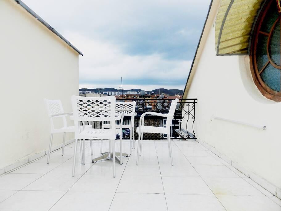 Terrace on 4th Floor