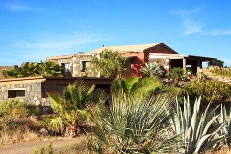Casa el campo,tropical garden,panoramic view,wifi - Lajares