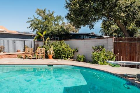 Útulný a relaxačný penzión v blízkosti parku Santa Anita