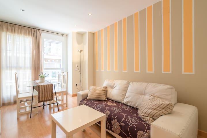 Homey apartment, Malaga Center