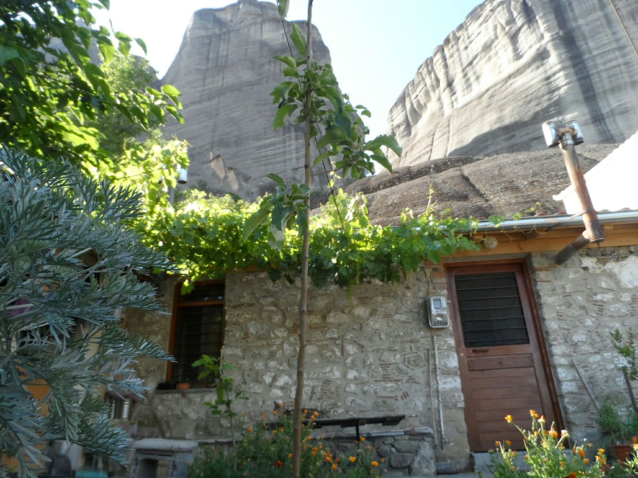 House from outside.