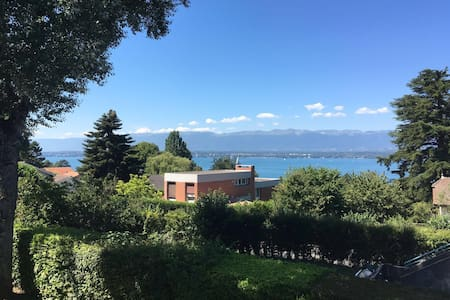 Beautiful flat Geneva countryside - Lägenhet