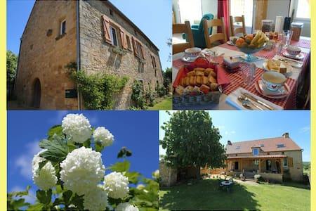 Chambres Dordogne proche de Sarlat - SAINT CIRQ MADELON - Inap sarapan