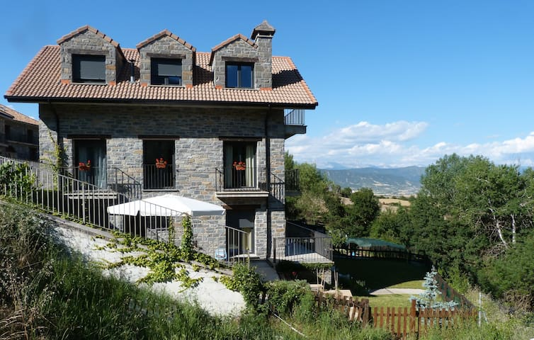 Beautiful house in Aragonese Pyrenees