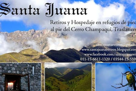 Refugio montaña / Mountain shelter - San Javier y Yacanto