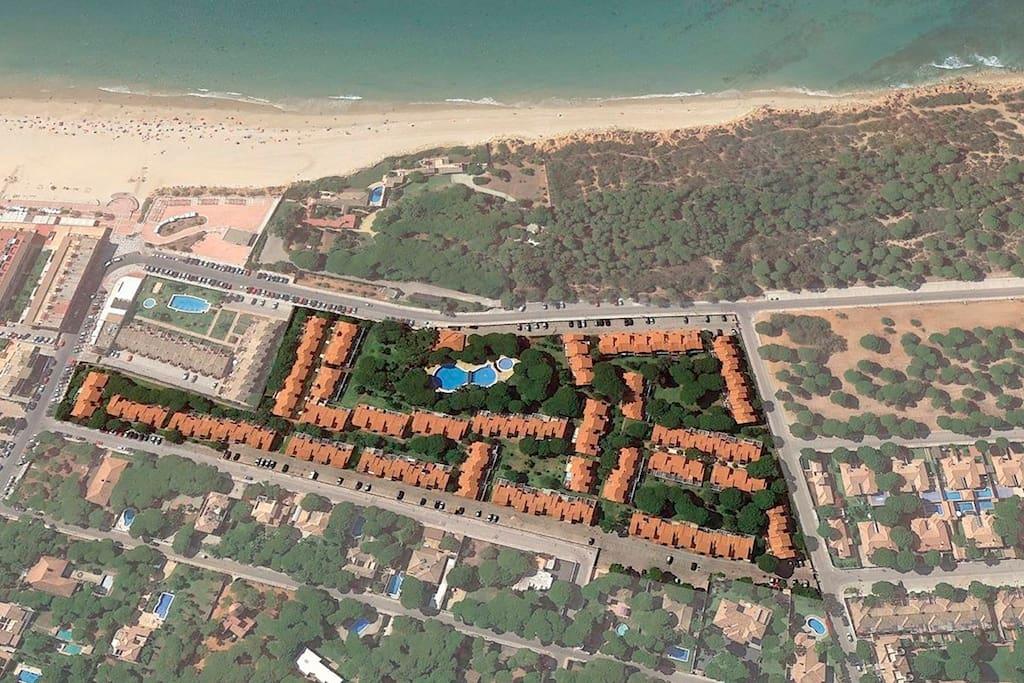 Vista aérea Urbanización Balconera