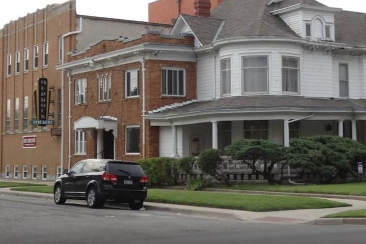Elegant Mansion in the heart of Downtown Wichita