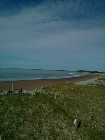 Lawrencetown OCEANFRONT studio apt - East Lawrencetown - Casa