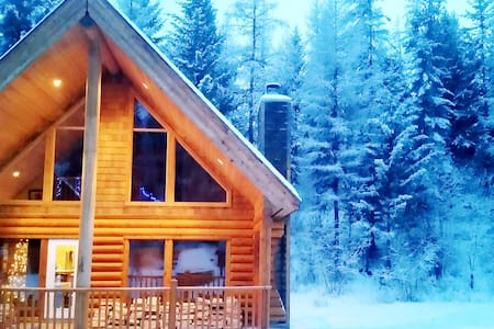 LUXURIOUS LOG CABIN|SLEEPS 8 ADULTS|MOUNTAINS|WIFI - Kimberley - Talo