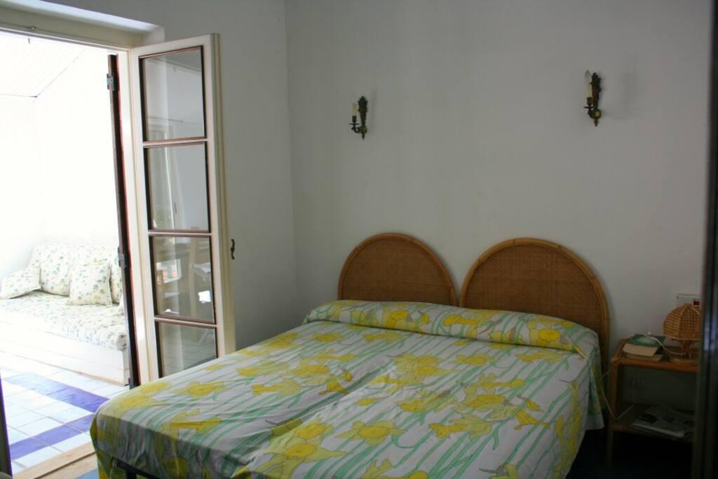 grond floor bedroom