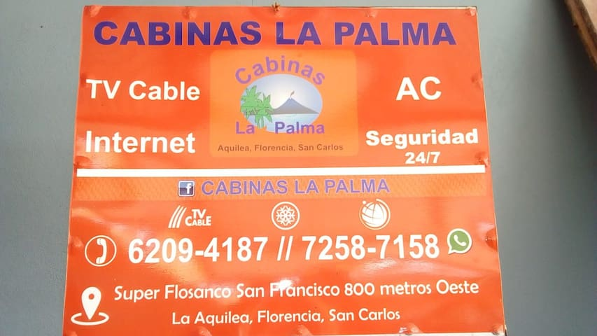 Cabinas La Palma