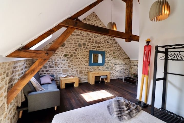 Le Champ Huec Loft. Rural charm with modern accent