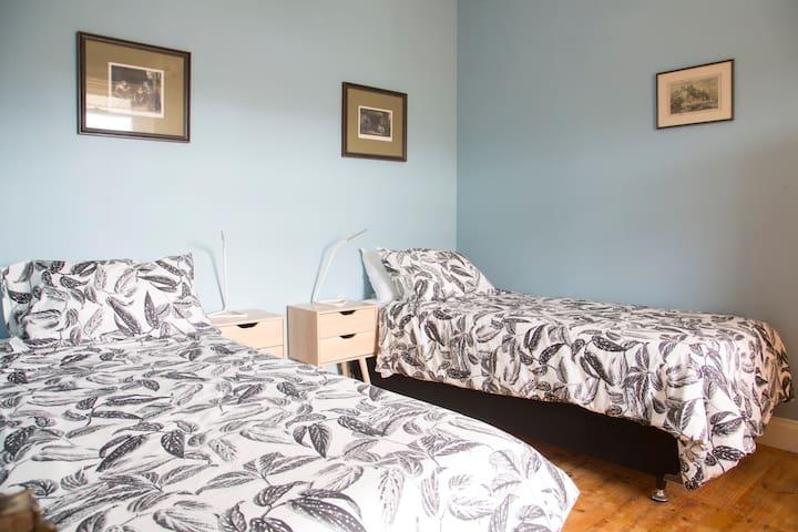 Bedroom 2 - Flexible Sleeping: 2 Single Beds
