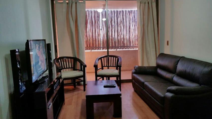 Apartamento, central y muy acogedor - Santiago - Apartment
