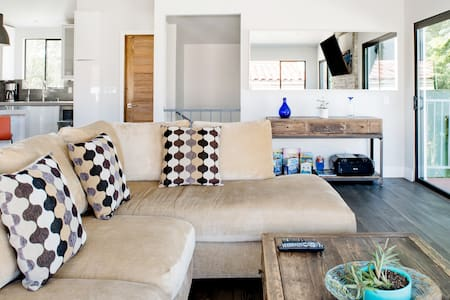 Sharp, Architectural Townhome with San Gabriel Mtn Views