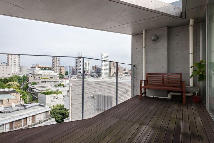 Roppongi nice view & duplex - Minato-ku - Pis