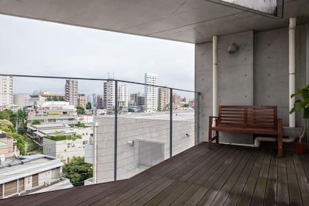 Roppongi nice view & duplex - Minato-ku