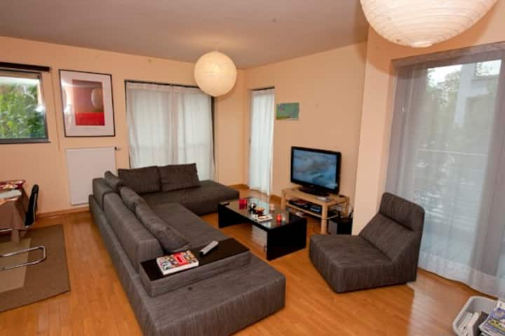 Amazing 100 m2 downtown Brussels!(91 nights min)
