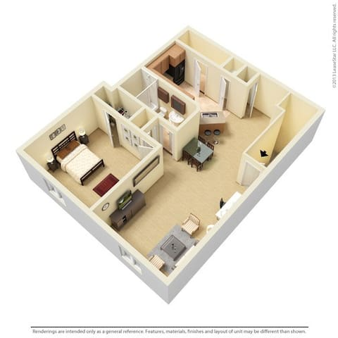 Mandalay Villa - McDonough - Appartement