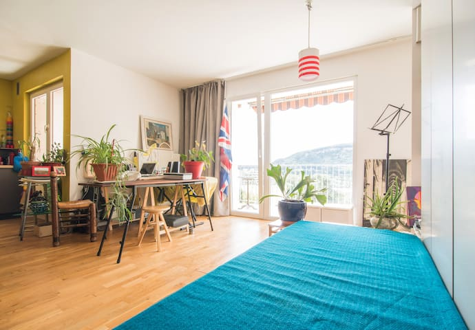 FAB View Modern Loft Easy Access from Geneva - Ambilly - Pis