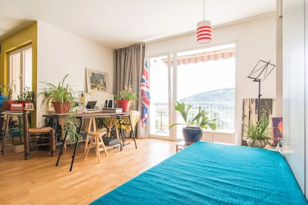 FAB View Modern Loft Easy Access from Geneva - Ambilly - Huoneisto