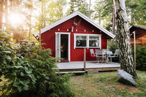 Hyggeligt sommerhus til leje i Björkhaga, Gotland