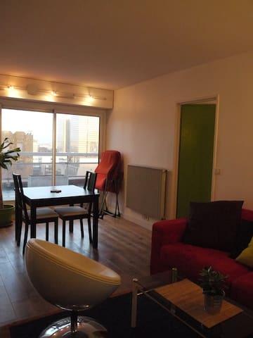 Charming sunny apartment in Paris - Paris - Kondominium