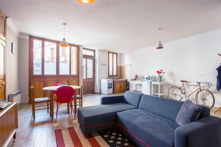 Centre of Ceret Renovated Apartment - Céret