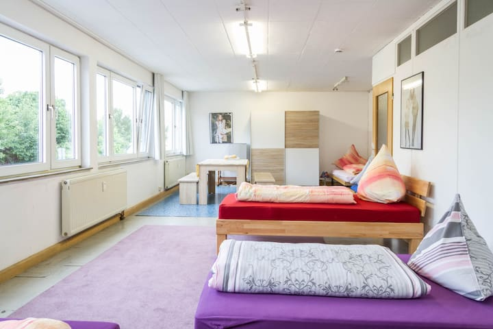 Carli's Bed-No-Breakfast -  Heart Of The City - Friedrichshafen - House