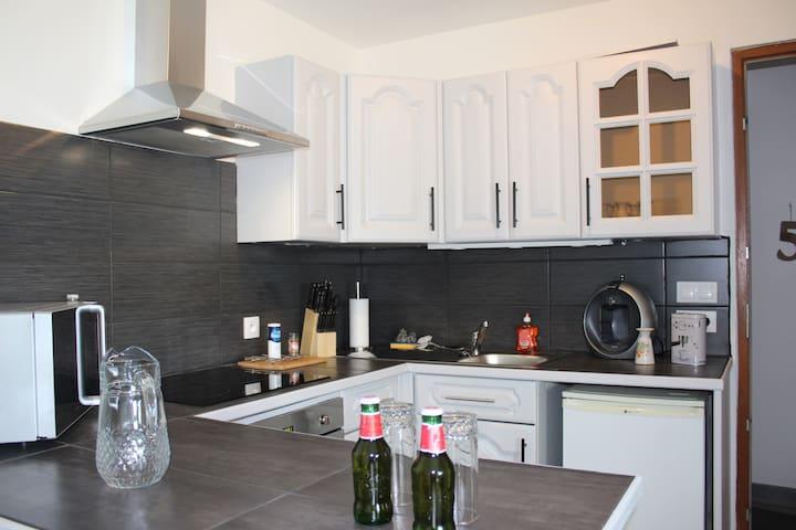 Appartement Équipé et au Calme